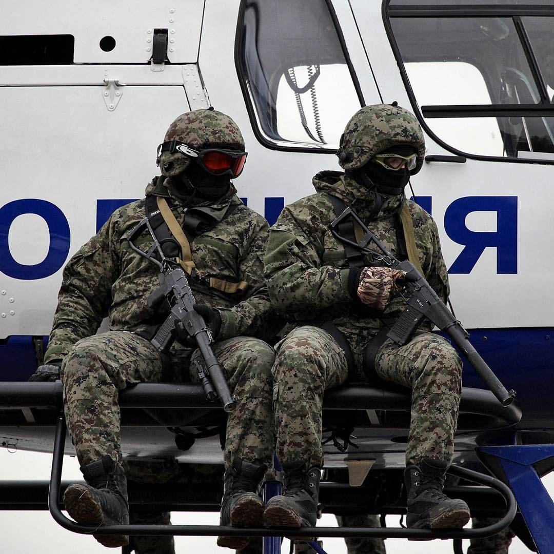 Russian Spetsnaz Photo Russiansoldier001: Spetsnaz MVD SOBR Lynx Operators Wearing SURPAT During