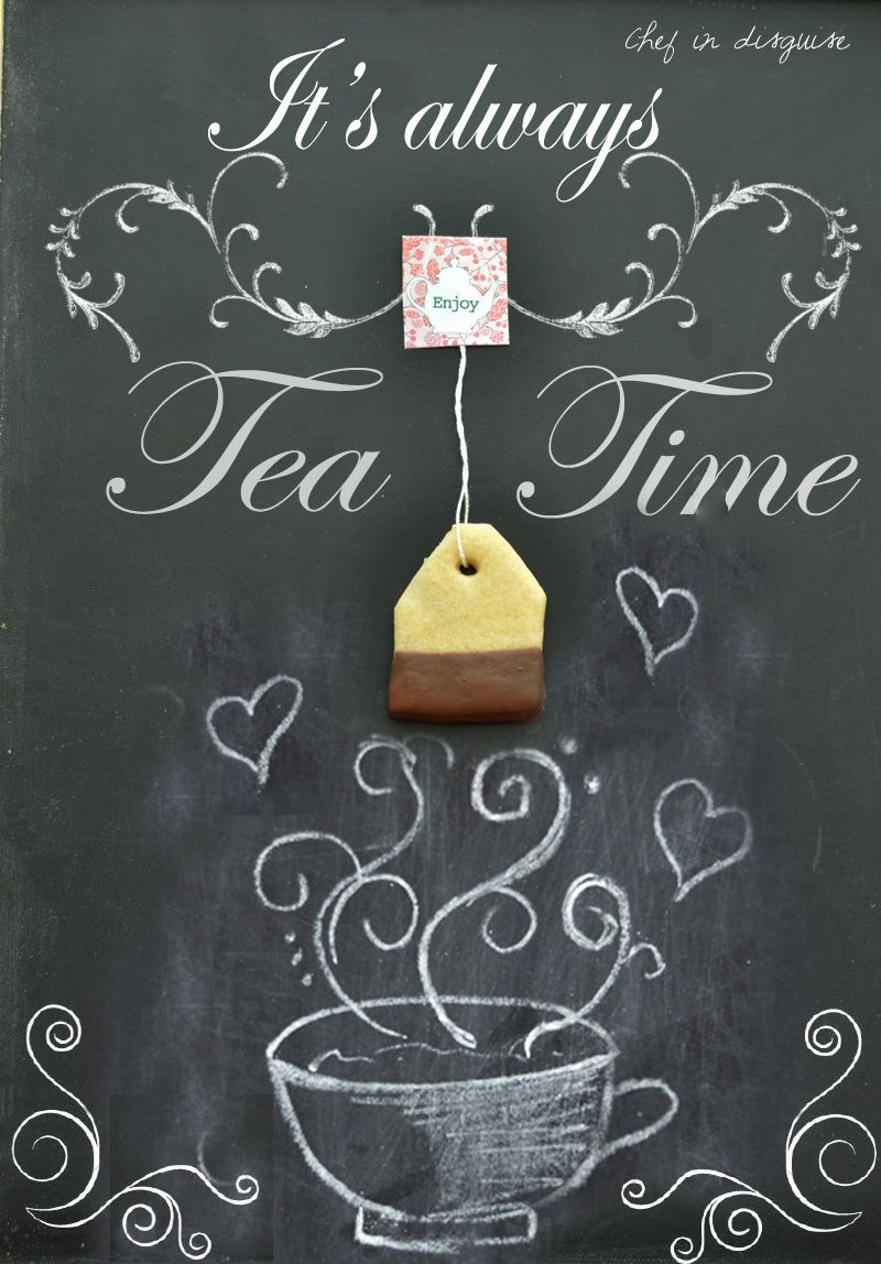 Always tea time, chef in disguise