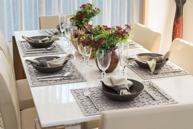 27 Modern Dining Table Setting Ideas Modern Dining Table Set