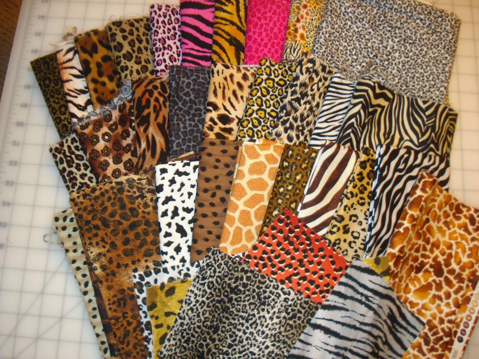 Animal Print Quilt   enough animal-print fabrics for DGD's high ... : animal print quilt patterns - Adamdwight.com