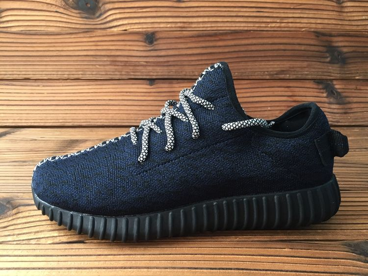 2017-2018 Cheap Women Adidas Yeezy Boost 350 Low Pirate Black Black For Sale