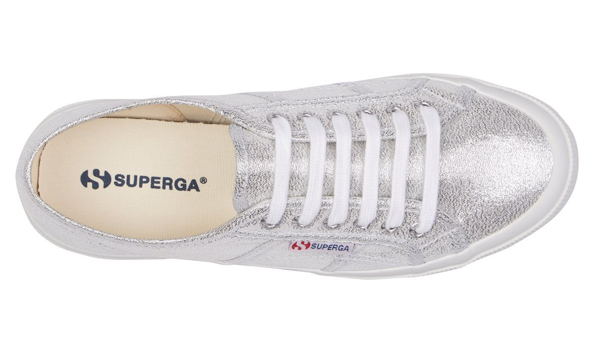Buy Superga 2750 LAMEW Grey Silver