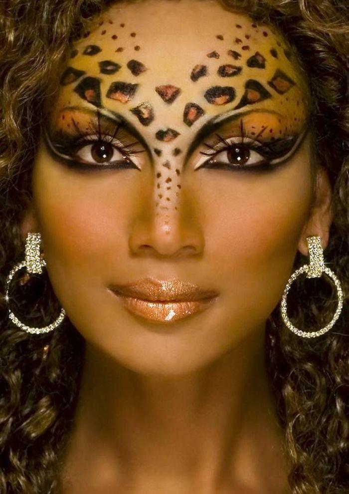 Maquillaje de cara de leopardo: 56 grandes ideas! – Archzine.net
