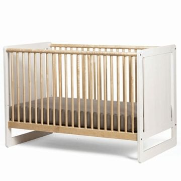 Oeuf Robin Collection Crib in White/Birch