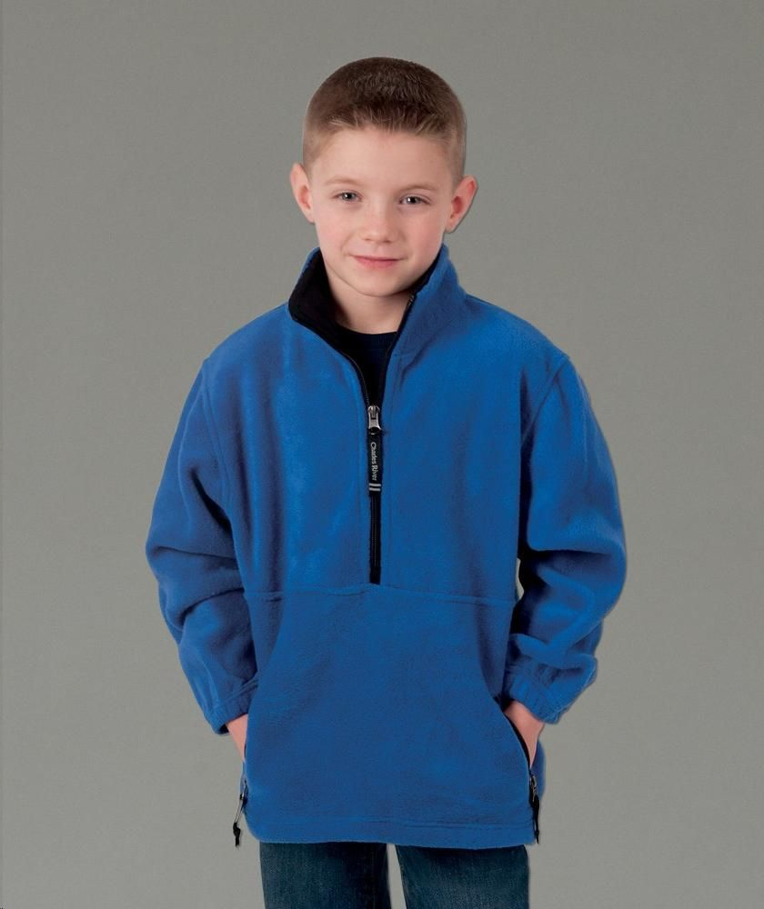 d75fb4a6e Buy the Charles River Apparel 8501 Youth Adirondack Fleece Pullover from  SweatshirtStation.com, on sale now for $28.43.