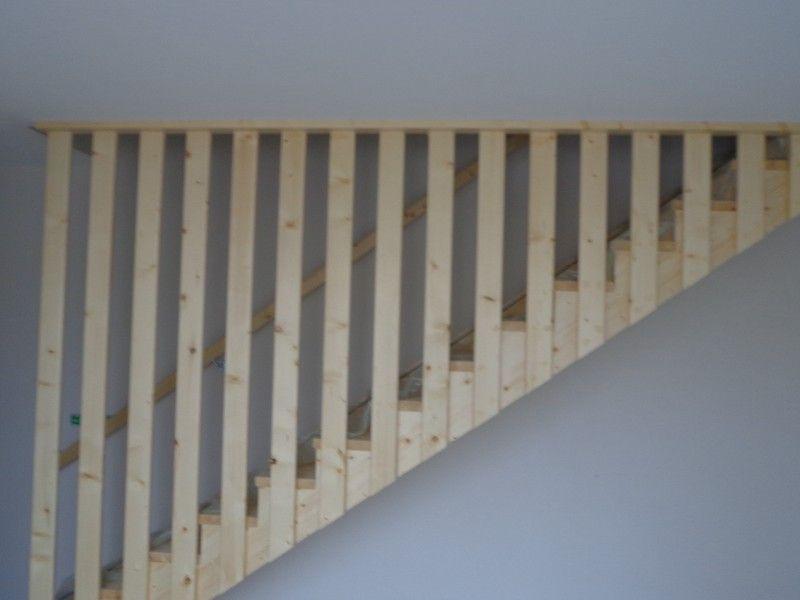 escalier droit avec rampe toute la hauteur deco pinterest escalier droit rampes et la hauteur. Black Bedroom Furniture Sets. Home Design Ideas