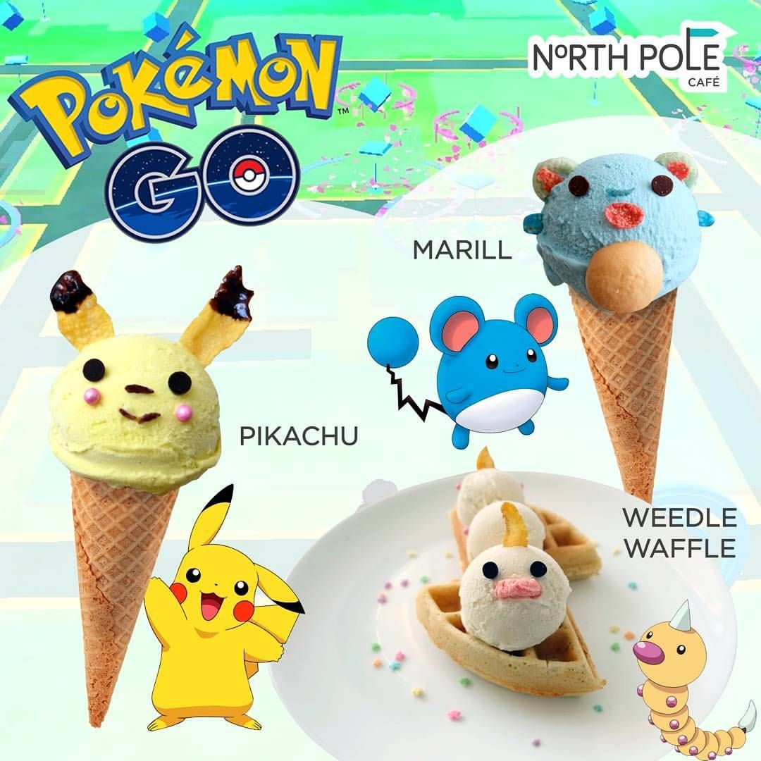 Pokémon Desserts by  @northpolecafe • via Instagram #pokemonGO #pokemon #nintendo
