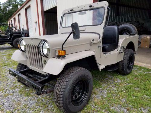 Willys Jeep Cj3b By Mitsubishi Heavy Industries Turbo Diesel