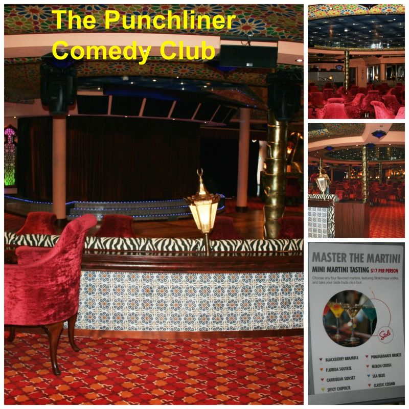 The Punchliner Comedy Club On The Carnival Splendor Has George - Punchliner comedy club