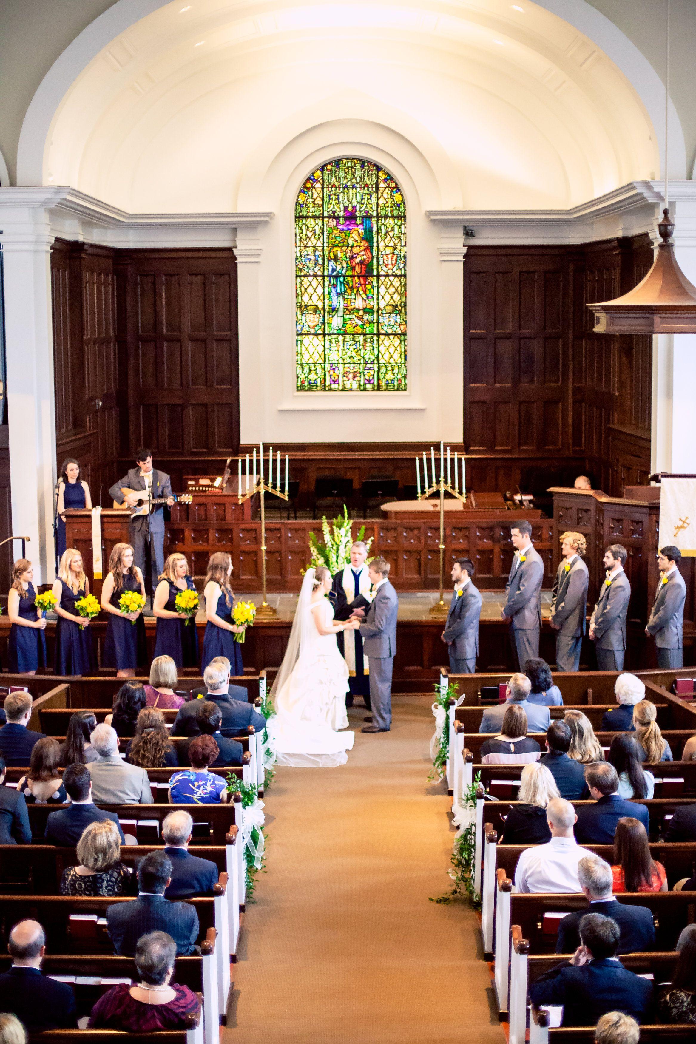 Home | Church wedding ceremony, Blue yellow weddings ...
