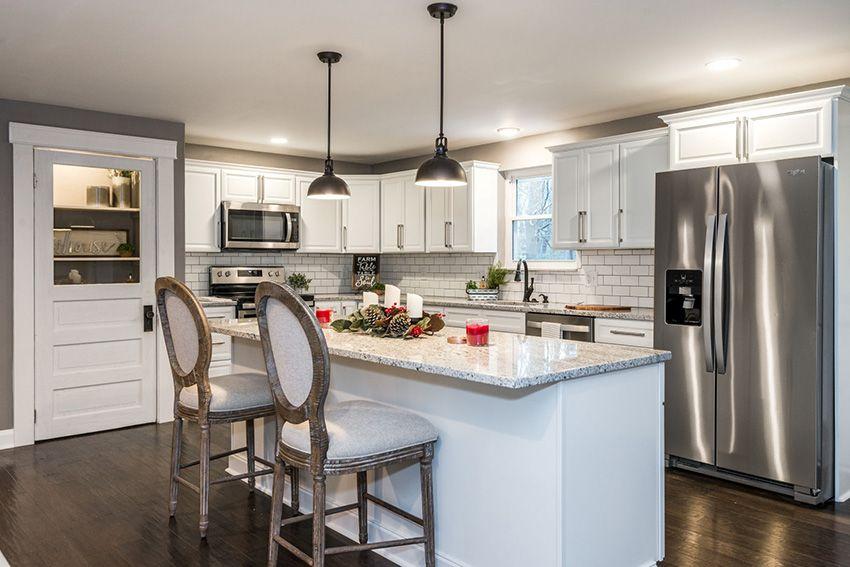 Assembled Lexington White Kitchen Cabinets Online From Kitchen