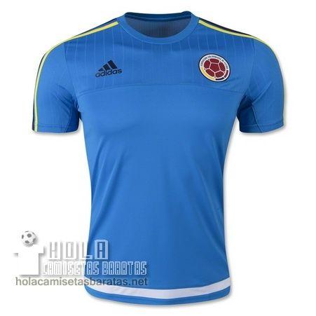 Camisetas De Entrenamiento Azul Colombia 2015  €20.9