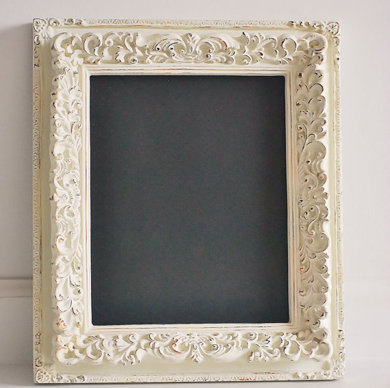 Chalkboard frame, shabby chic, wedding decor, vintage style frame, picture frame chalboard on Etsy, $32.90 AUD