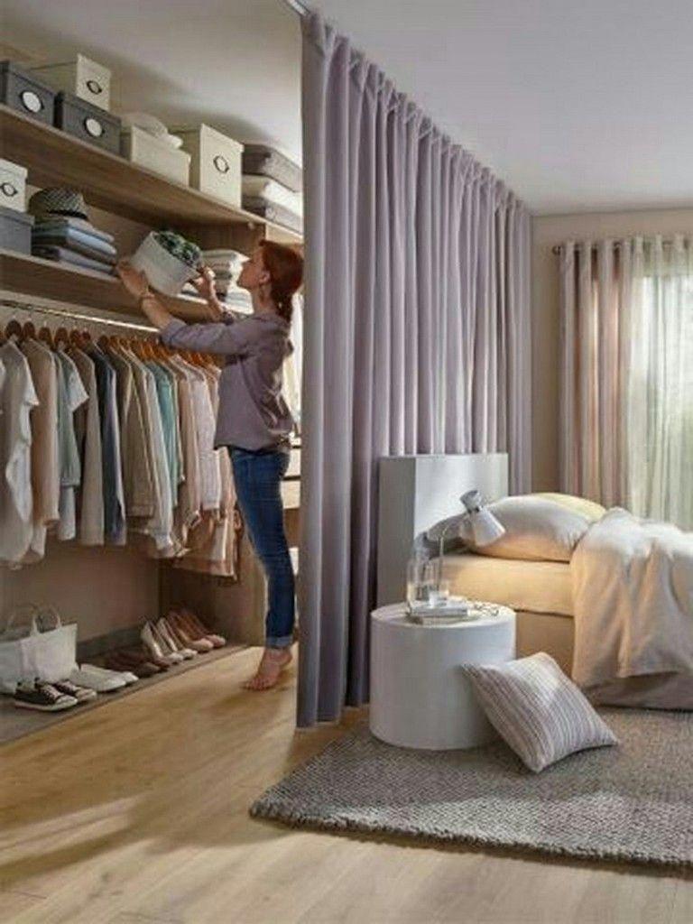 30 Simple Diy Bedroom Storage Fof Small Space