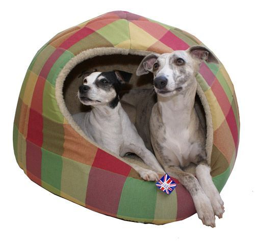 Omega Extra Large Hooded Pyramid Dog Bed Designed To Fit Two Small Dogs Or One Medium Igloo Dog Bed Designer Dog Beds Covered Dog Bed