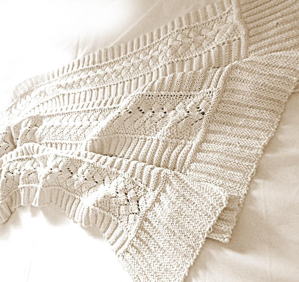 Snuggly Baby Blanket - P023 | Blanket, Knit patterns and Knitting ...