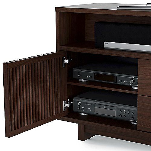 Exceptional The BDI Vertica Tall Media Cabinet Is A Tall Yet Narrow TV Stand Ideal For  More