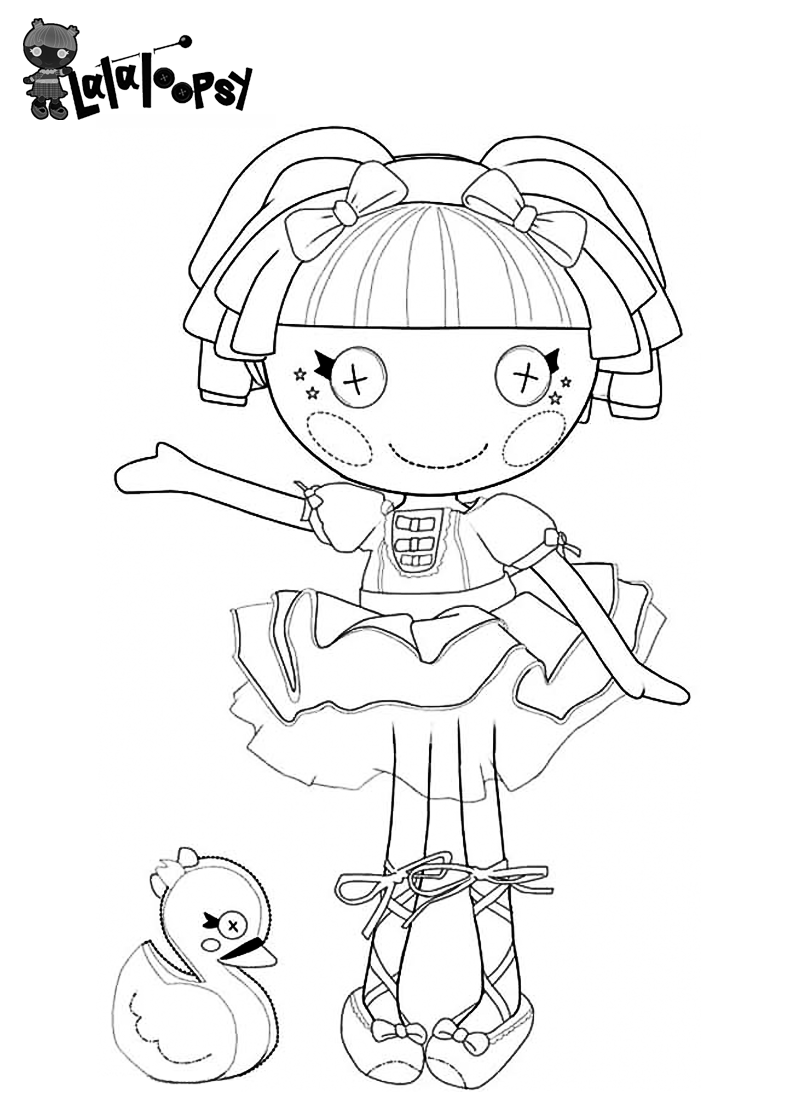 Lalaloopsy Coloring Pages | Bratz Coloring Pages | Coloring pages ...