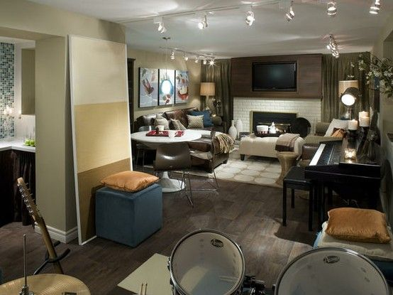 Rec Room 2 · Basement Decorating IdeasBasement ...