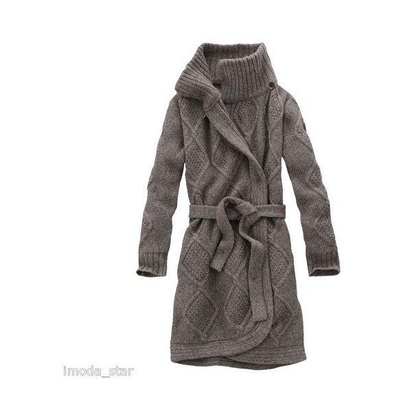 Timberland Merino Wool Women's Chunky Long Cardigan Size M