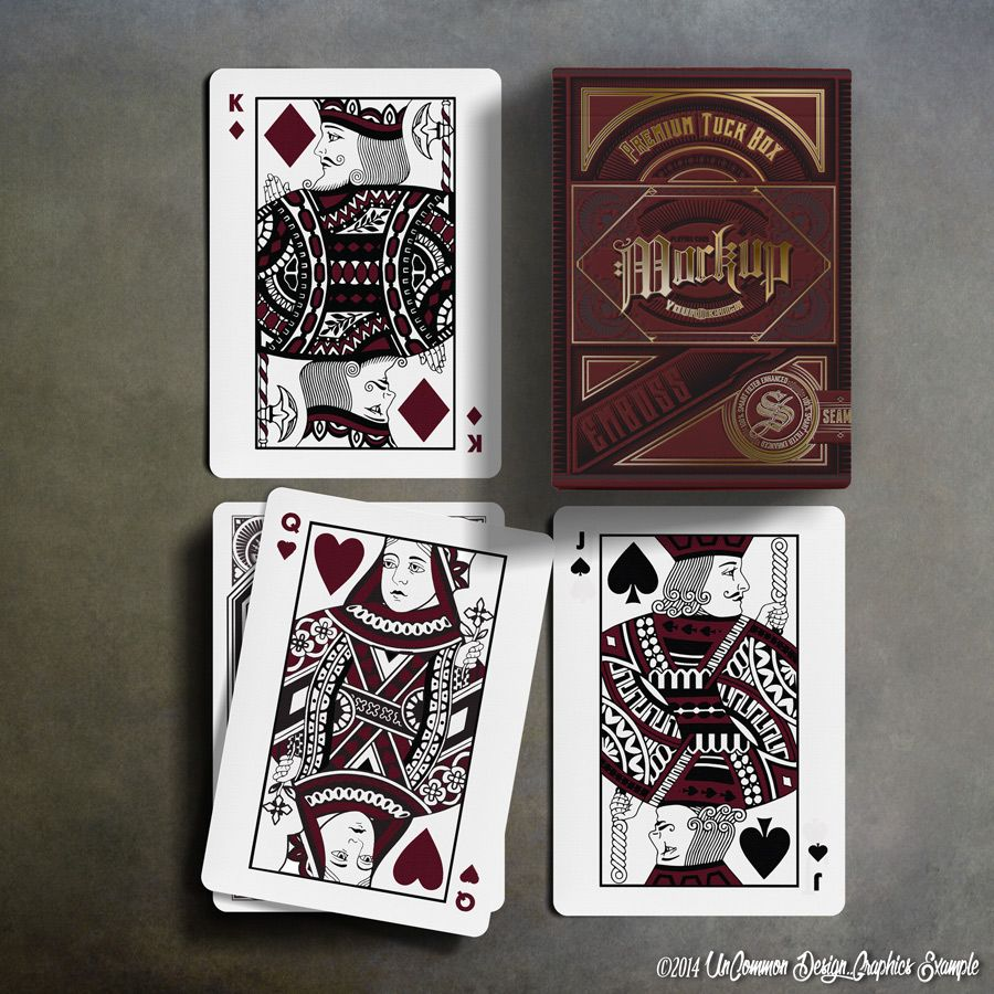 Design Sample Mohave Palate Premium Cards Tuck View Adobe Photoshop Psd Cc Playing Card Tuck Box Mock Up Uncommo Cards Playing Cards Playing Cards Shop
