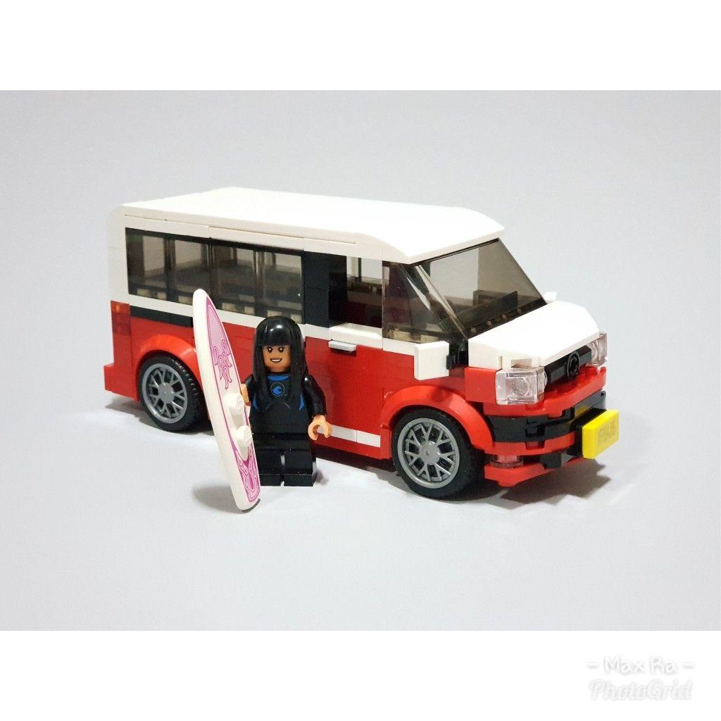 Лего транспортер фольксваген прицеп конвейером