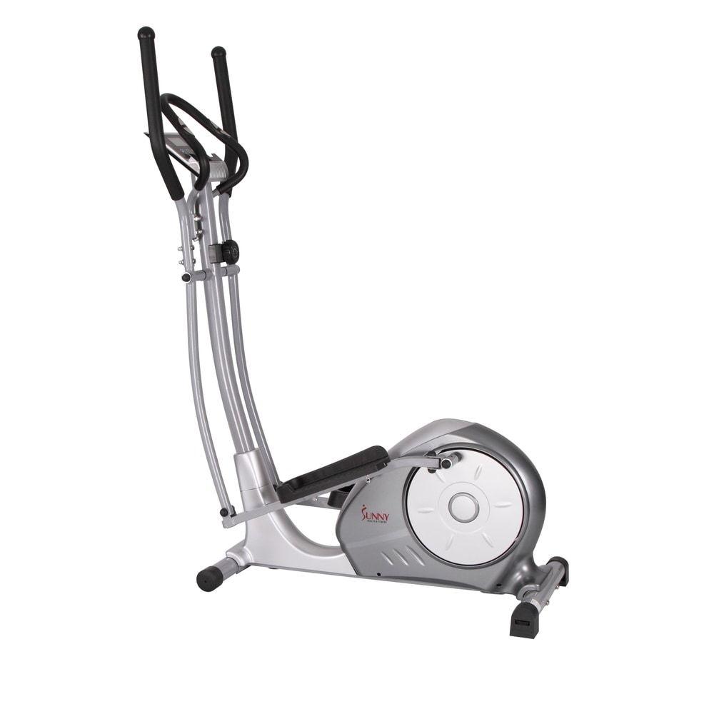 Sunny health fitness sfe3608 silver portable