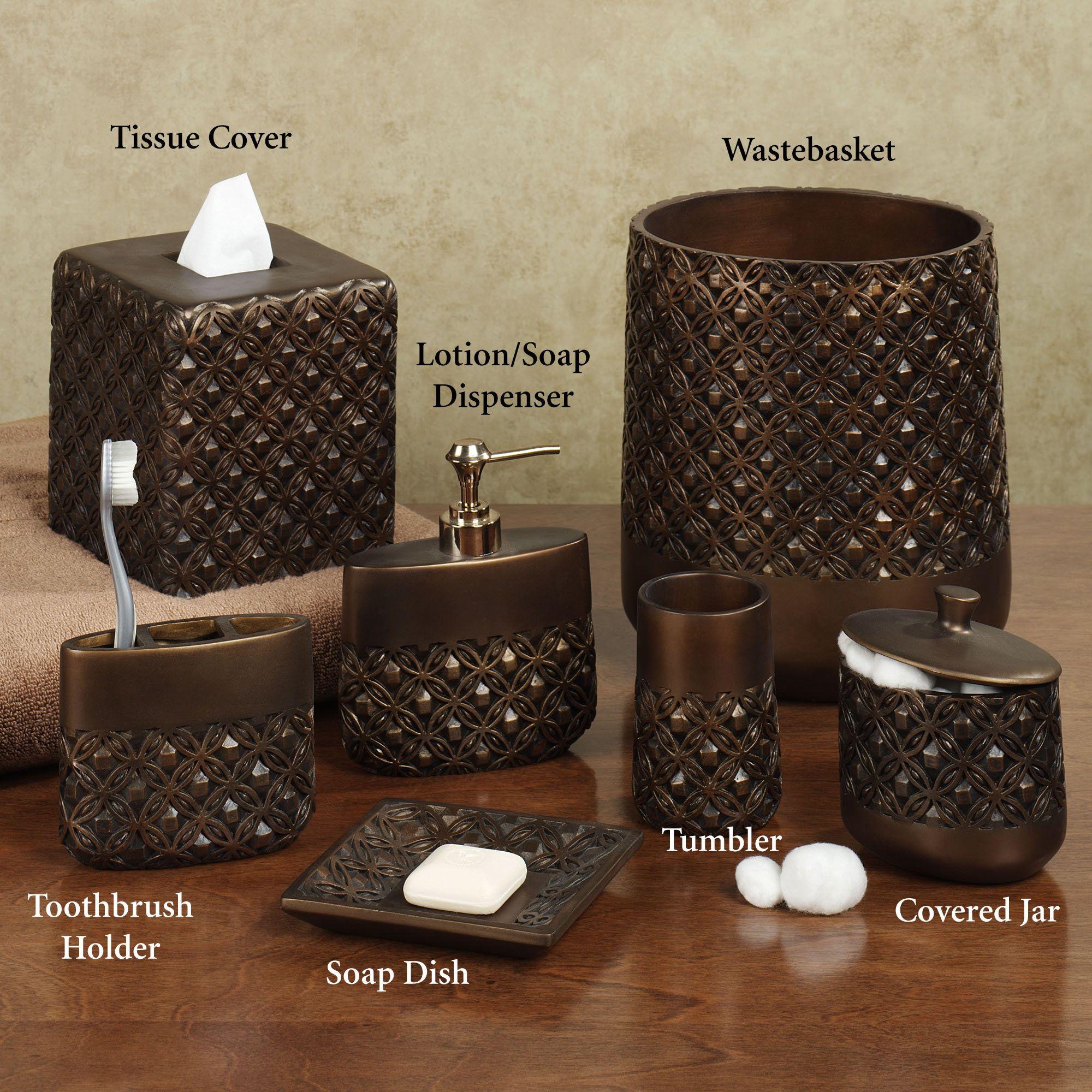 Bathroom accessories islandia bath accessories by - Bathroom accessories soap dispenser ...