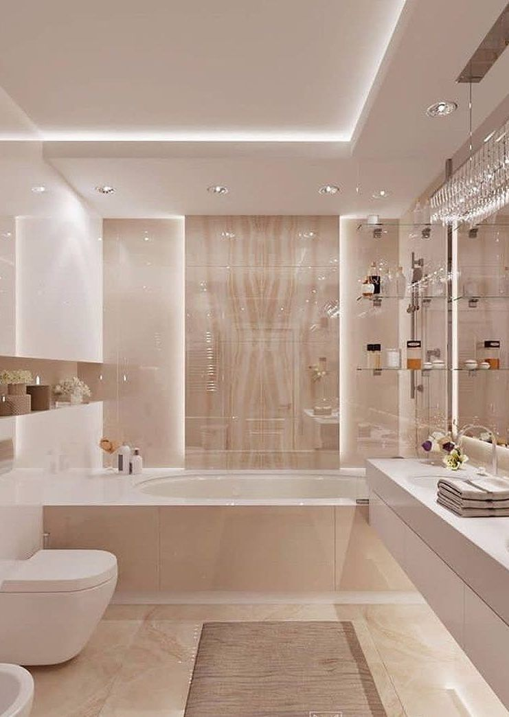 43 Amazing Most Popular Bathroom Design Ideas For This Year Page 31 Of 43 Womensays Com Women Blog Bathroom Interior Design Popular Bathroom Designs Bathroom Design Luxury