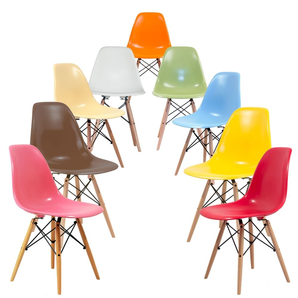 chaise dsw - charles eames - chaises design - meubles & design ... - Copie Chaise Eames Dsw
