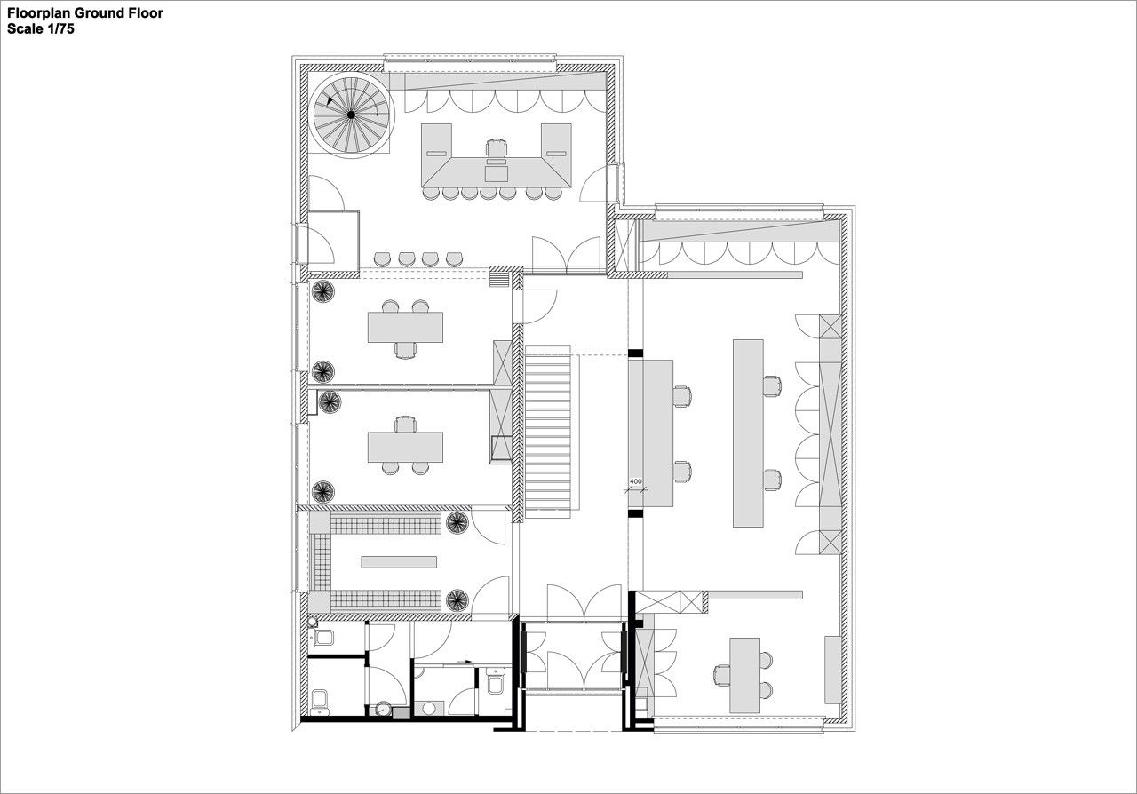 Gallery Of Legal Office Creneau International 14 Office Plan Legal Floor Plans