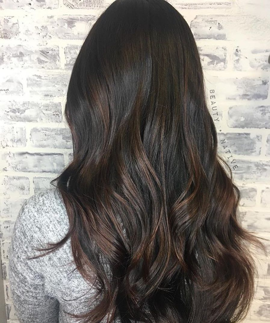 Chocolatelovers Unite This Deep Cocoa Haircolor Is Absolutely
