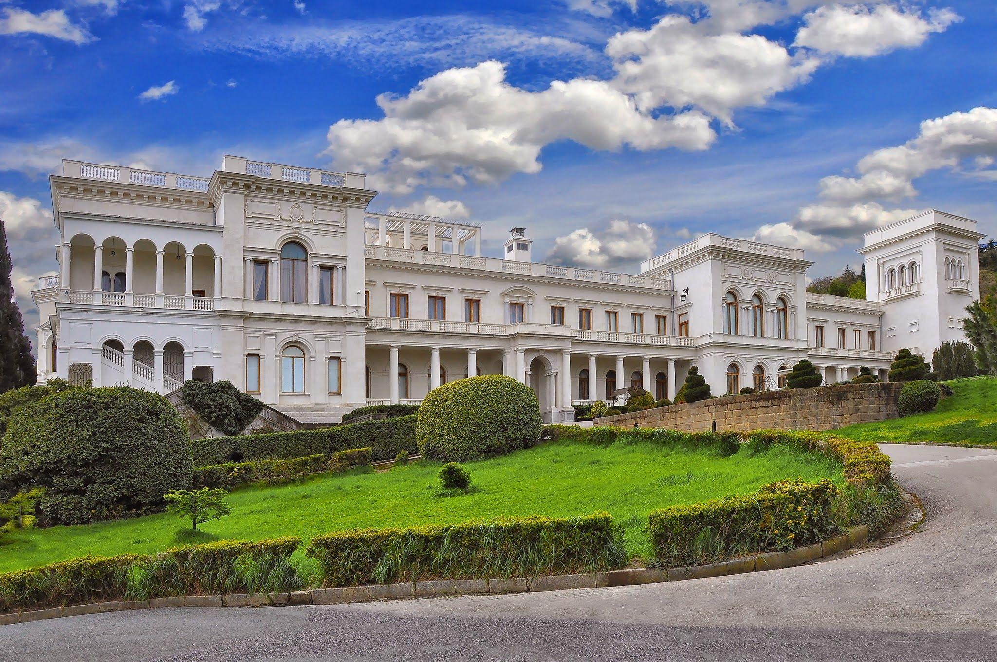 Ливадийский дворец- дорога, цены, информация.