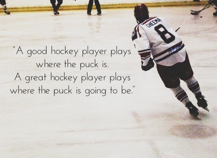Gretzky Has It Right. The Difference Between Good And