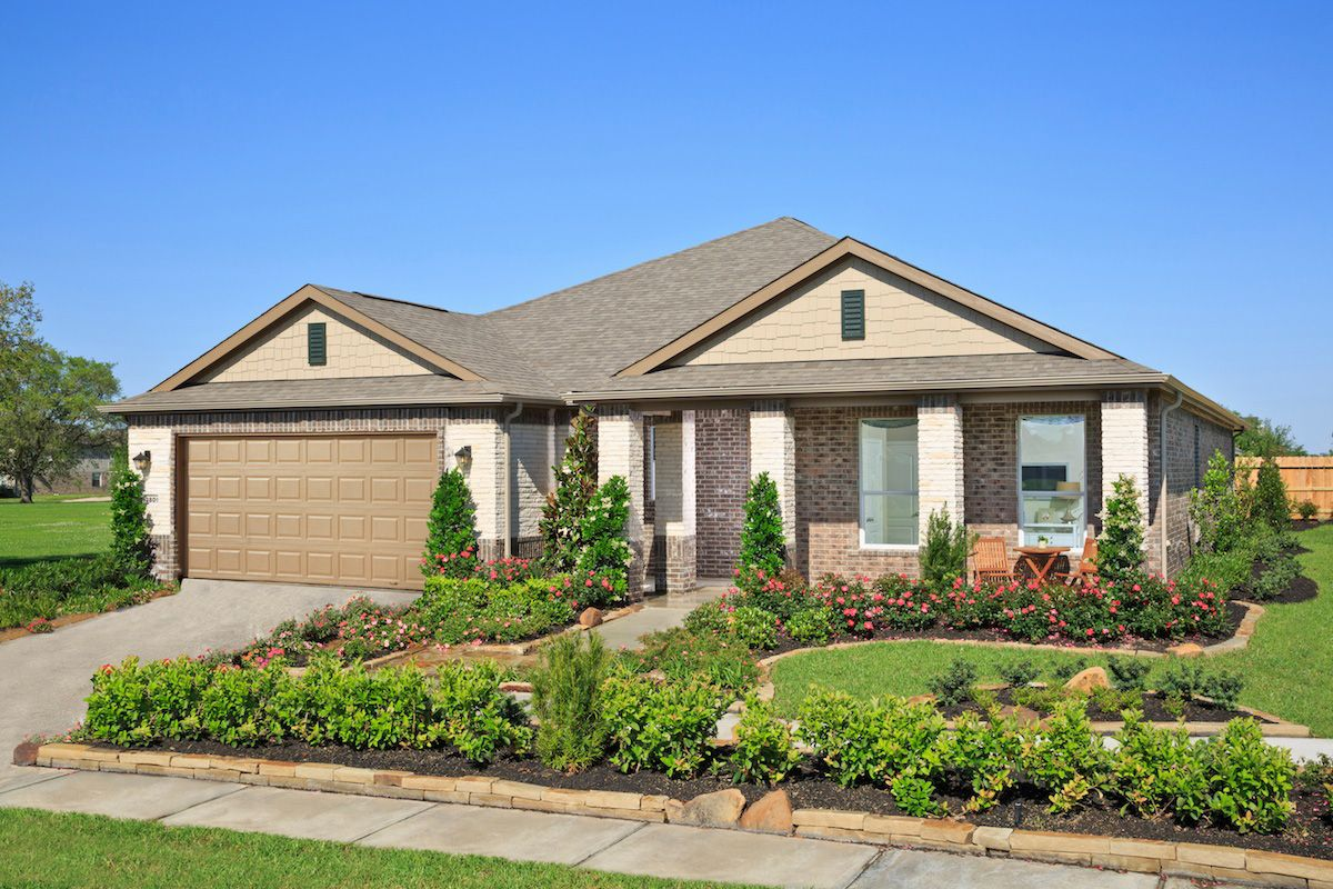 Canterbury park a kb home community in pearland tx