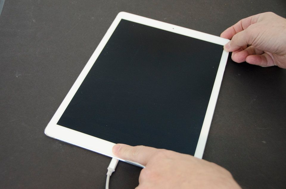 How to unlock an iPad you've the password to