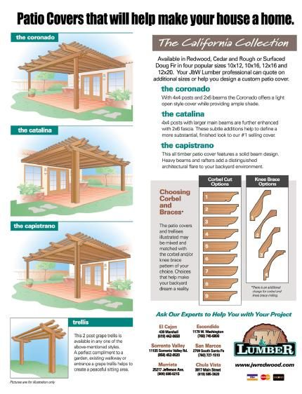 ... Patio Cover Plans