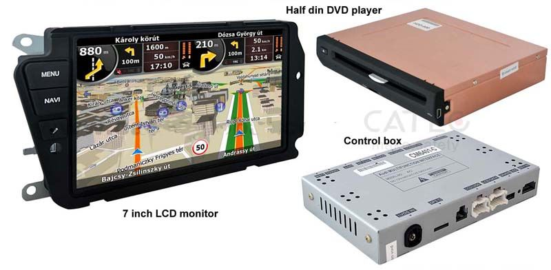 Pin by Melo Zhang on car dvd player | Gps navigation, Audi a4