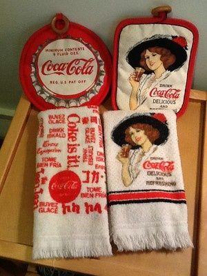 Cola Kitchen Towel