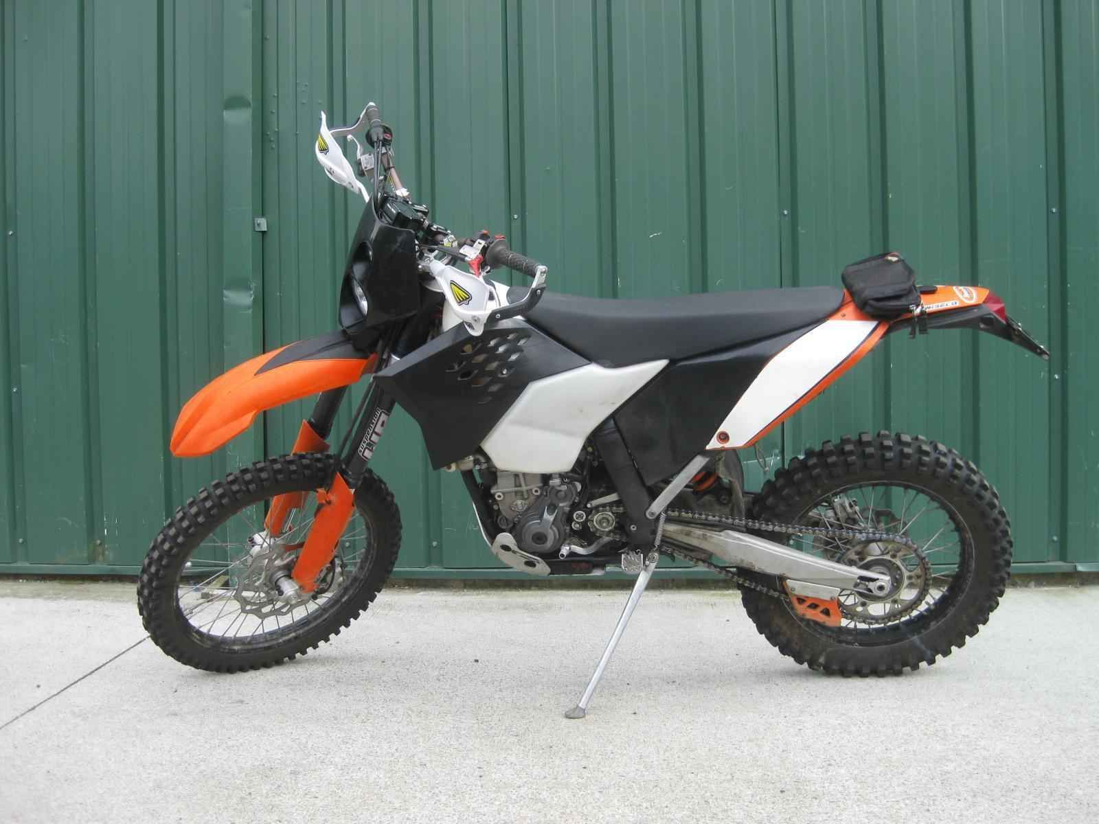 2008 ktm xcf 450 street legal with a clean t ktm ama