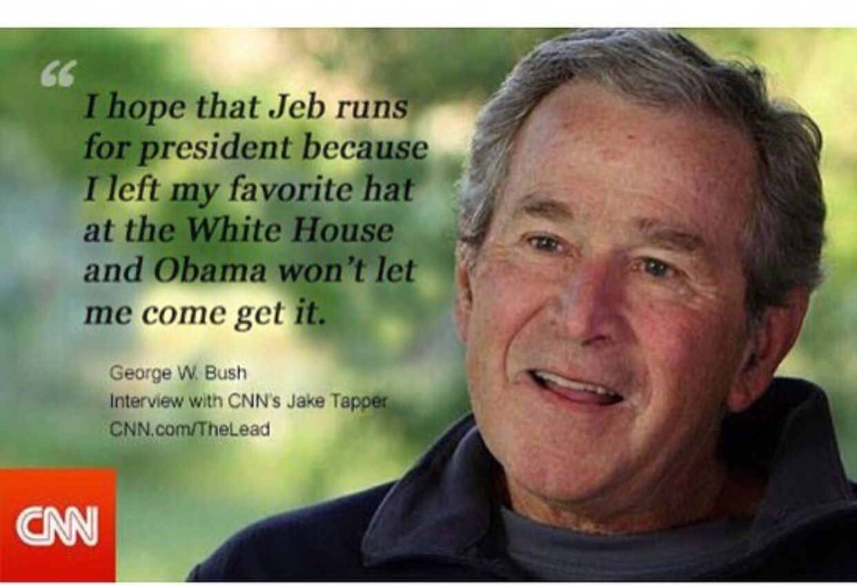 Jeb Bush Quotes Pininde On Funny  Pinterest  Bush Quotes