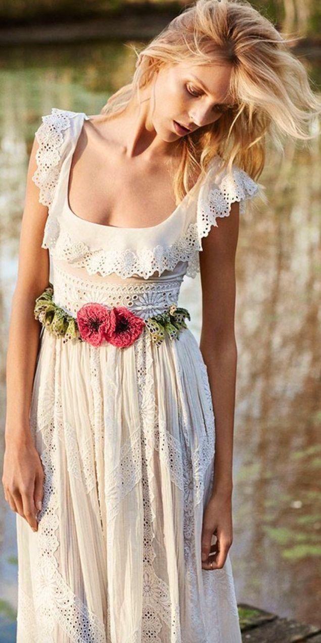 Casual Beach Wedding Dresses To Stay Cool Платье на