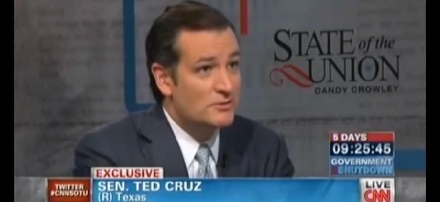 Politics: VIDEO: Extreme wacko bird Ted Cruz absolutely owns Candy Crowley on CNN | Best of Cain