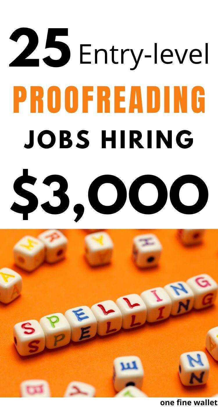 25 Online Proofreading Jobs for Beginners {2020 update