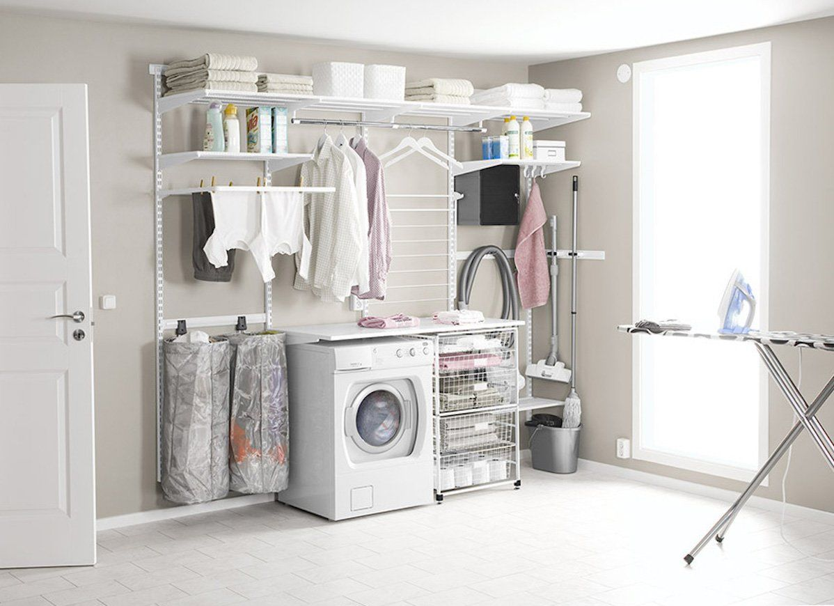 10 Simply Genius Ideas For Laundry Room Storage Laundry Room
