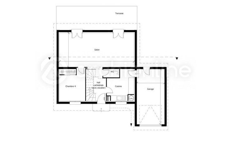 Maison Ouchy - Plan de maison Traditionnelle par Archionline