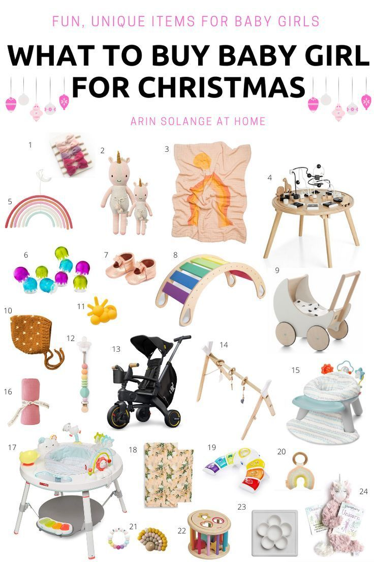What to Buy a Baby Girl for Christmas | Baby christmas gifts, Baby girl gifts, Christmas gift ...