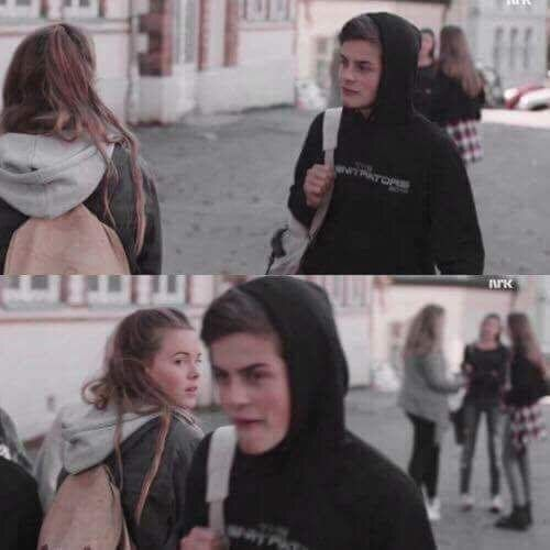 love this moment sm!! oh my god #skam #chris #eva