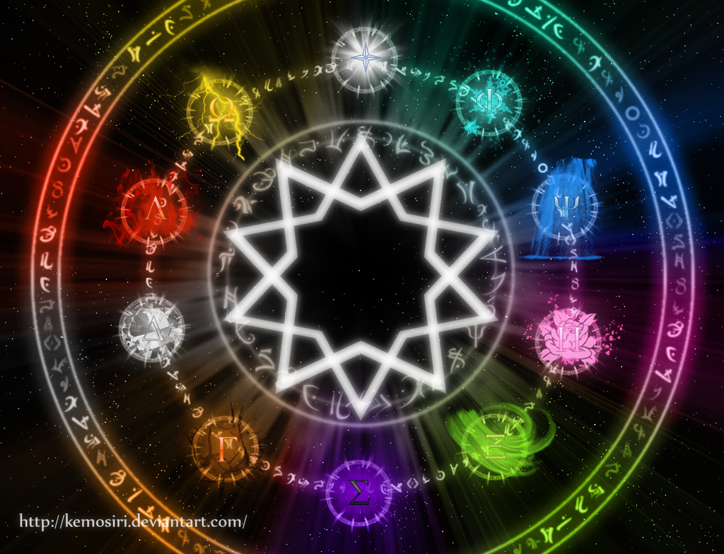 Elemental Wheel by Kemosiri.deviantart.com on @DeviantArt ...