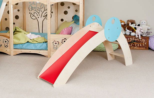 Awesome Indoor Wooden Play Slide Indoor Slides Indoor Kids Kids Slide